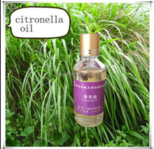100% Pure Essential Oil Type Citronella grass extraction essential oil for mosquito repellent