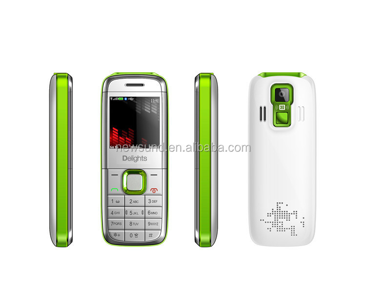 Unlocked celular mini 5130 mobile phone 1.4inch MTK6252 CPU 4 frequency