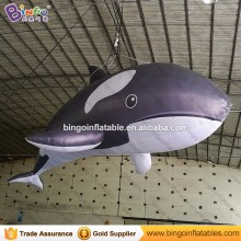 Ocean theme inflatable Killer Whale replica Marine animal model