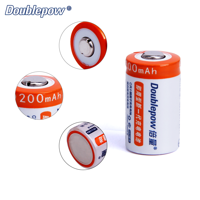 Hot Sale Full high capacity 3V 200mAh rechargeable cr2 battery 15260 li-ion battery
