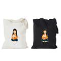 Custom cotton gym fashion cloth canvas tote bag printing