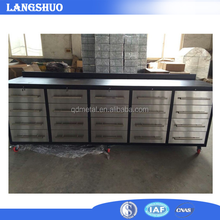 Qing dao producing central locking tool box tools with fridge