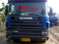 used good condition scania 10 tyres tractor head