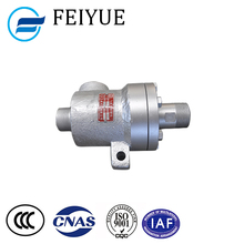 High pressure 2 way cast iron steam rotary joint for pipe fitting