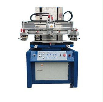 flatbed screen printing press for metal