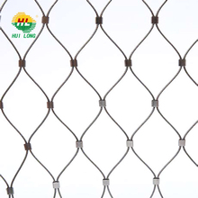 Aviary mesh, zoo mesh, X-TEND stainless steel cable mesh SS 304 316 316L