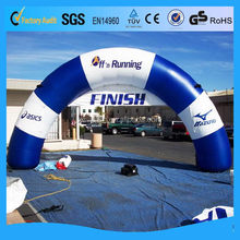 0.45mm PVC Top level hot-sale advertising arch inflatable for sale