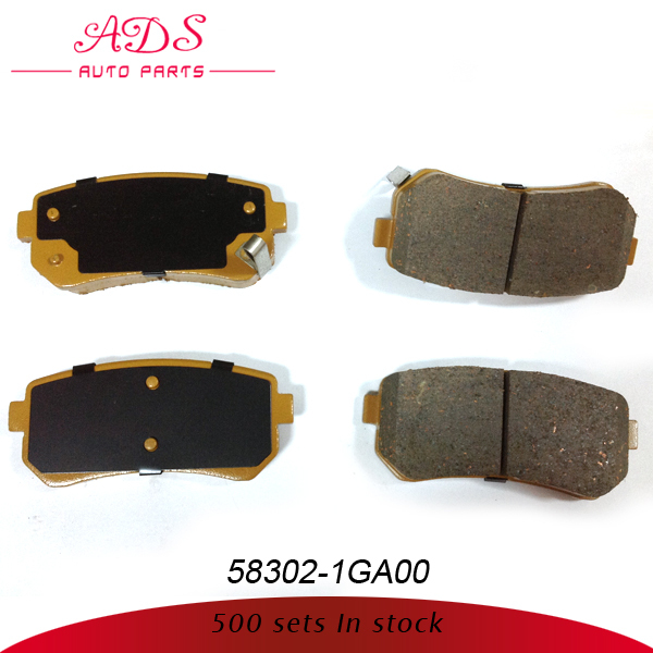 high quality low price brake pads for korean cars OEM: 58302-1GA00