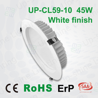 Factory price CE EMC LVD RoHS ErP 5630SMD samsung led chip 90LM/W light efficacy LED remote dimmable downlight