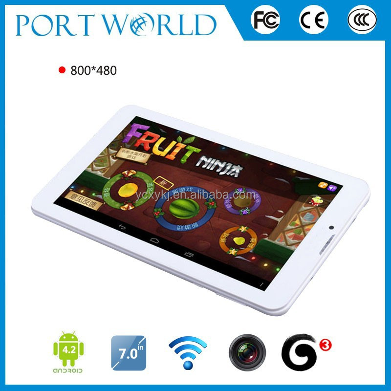 3G Android 4.4 touch screen replacement tablet 7""