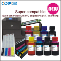 CISS For hp970/971xl pigment ink for HP970xl For Hp970 Bulk Ciss Ink Refillable ink cartridge for HP970