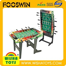 Foldable Football tables/Soccer tables for sale wooden baby foot Foosball desktop game