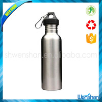 Best Price 750ML Stainless Steel Wide Mouth Water Bottle With Carry Outdoor Carabiner Sporting Water Bottle Water Cup