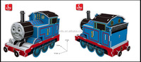 9341/THOMAS & FRIENDS 2/CARTOON TRAIN PUZZLE GAME/ EDUCATIONAL TOYS FOR KIDS/PAPER WITH PLASTIC FOAM 3D PUZZLE