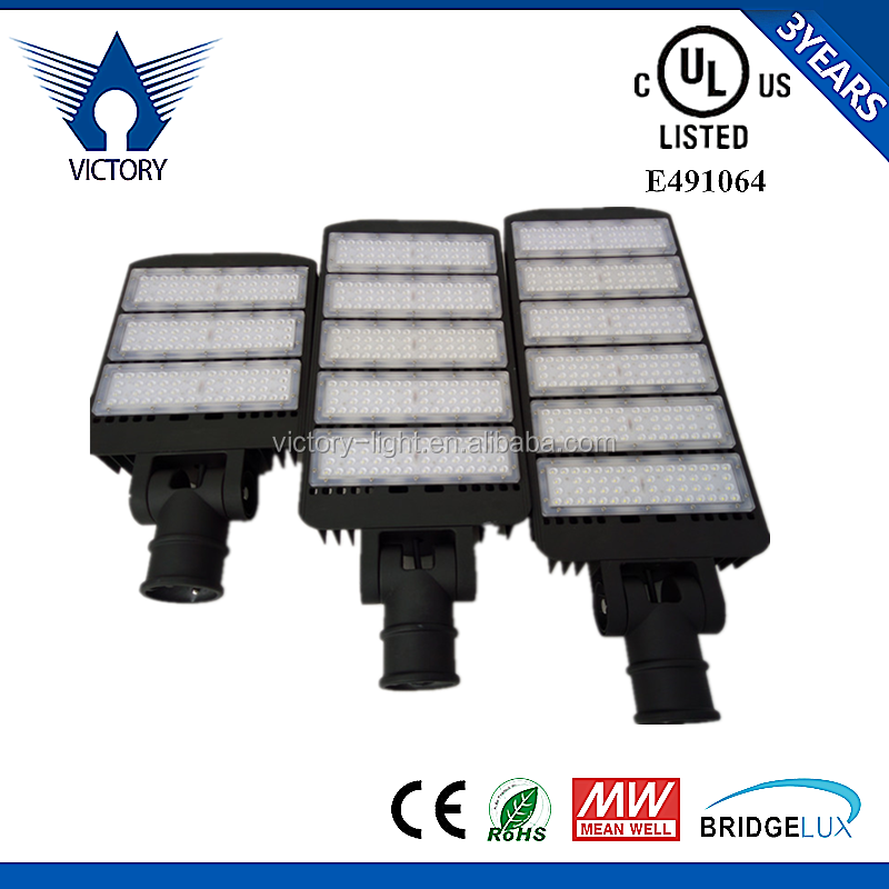High power Parking lot lighting IP65 LED street lighting fixture 150W 300W