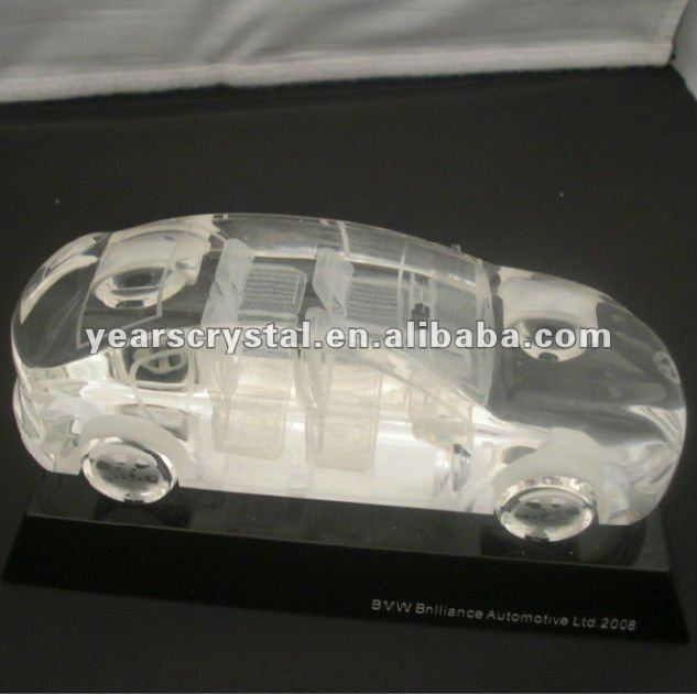 2012crystal traffic models with crystal car BMW with engraved (R-1030