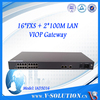 RJ45 to RJ11 VoIP ATA Gateway 16 FXS port SIP VoIP Gateway adapter connect to IP PBX box