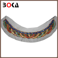 New arrival latest design Fashion Colorful handmade beading women collar neck design BK-CL294