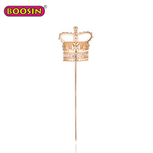 Metal decorative queen jewelry wholesale crown lapel pins queen pin brooch queen pins