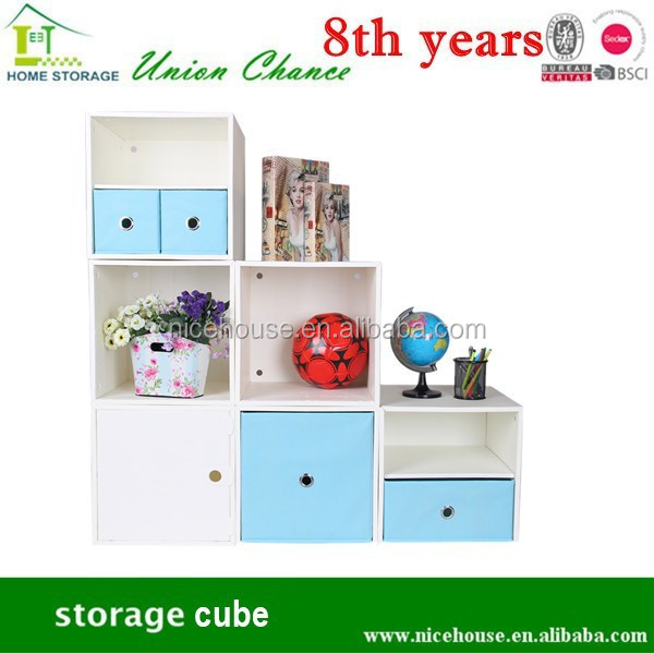 2015 convenient L shape plastic storage box with door&shelf