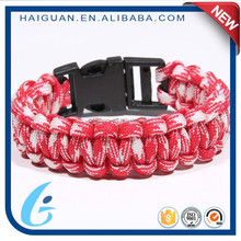 New Design Different Types Of Metal Charms Paracord Children Bracelets Making For Girls
