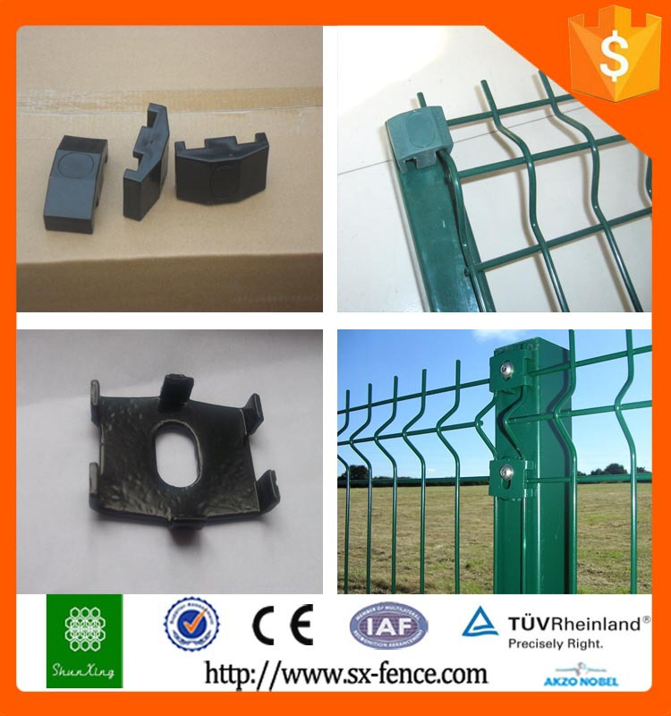 3d galvanized iron fencing supplies / wire fence panels / wrought iron fencing
