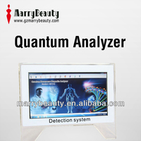 2016 Promotion touch screen quantum resonance magnetic analyzer