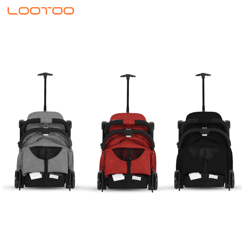 2019 new models lowest price luxury aluminium lightweight portable push foldable baby stroller for travel