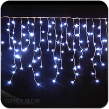 Window Curtain Icicle LED Backdrops Decorative Lights