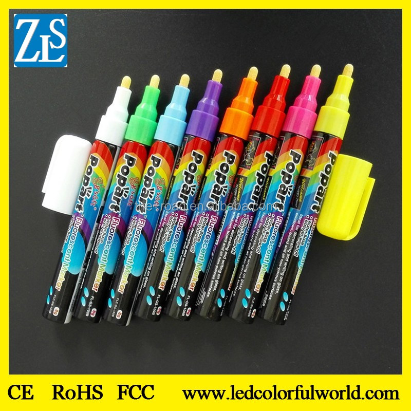 Chalkboard Liquid Chalk Markers Labels Amazing Neon Color Pens