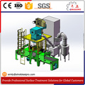 ISO9001 Certified Stone Pavers Shot Blasting Machine