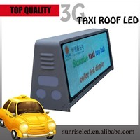 new technology p5 p6 led car/taxi screen Usage