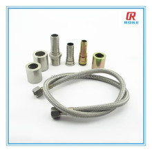 Zinc-Plated JIC/NPT/BSP/SAE/Metric hydraulic hose fitting