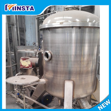 horizontal mechanical filter press/diatomaceous earth filters