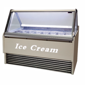 For Ice Cream Shop Coffee Shop Gelato Display Show Case