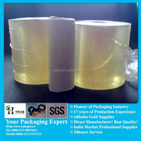 pvc clear free blue films for packing manufacturer
