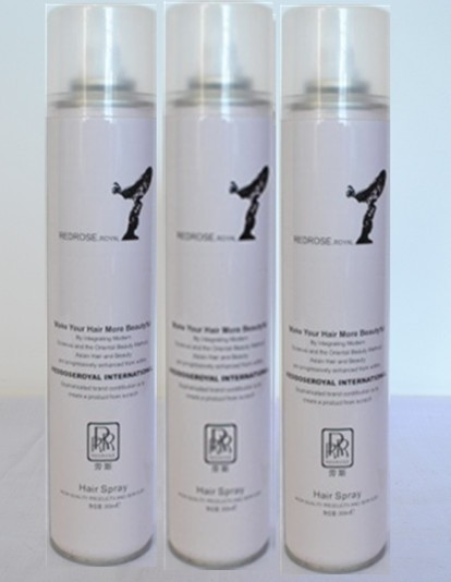 Free sample strong hold superior fashion OEM silicone hair spray