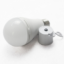 9W rechargeable bulb light emergency led lamp