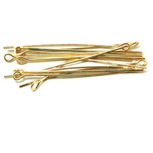 Wholesale Approx 1700pcs/lot Jewelry Pin Findings Rose Gold Plated 45MM Eye Pin DH-FZB013-20