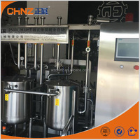 Wenzhou 2500L/h plate milk pasteurizer with automatic control