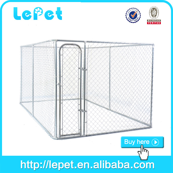 wholesale chain link rolling galvanized big animal cage