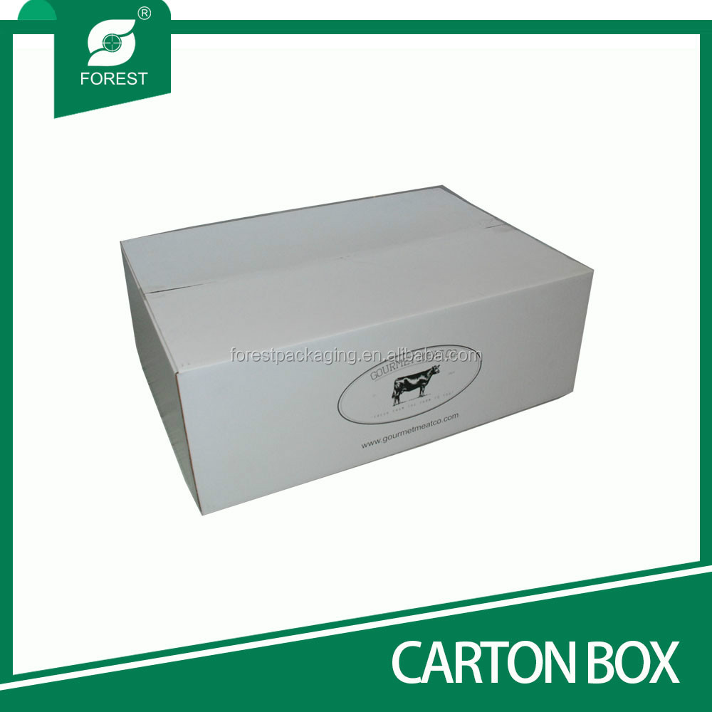 ACCEPT CUSTOM ORDER CORRUGATED CARTON BOXES FOR FROZEN MEAT PACKAGING WHOLESALE