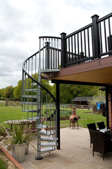 Buy Outdoor Metal Spiral Staircase with Cheap Wholesale Price from