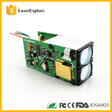 RS232 600M rangefinder laser distance meter module 31*33*74mm OEM range finder Module/Measurement resolution 0.5m