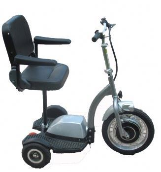 New Arrival three wheeled charged adult motor scooter with detached seat