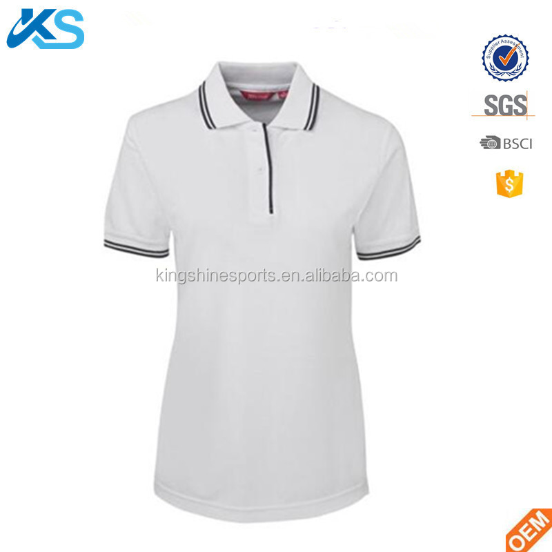 Wholesale Custom Polyester Contrast Women Chefs Cooker Kitchen Chef Cafe Restaurant School Food Pique Polo Shirt