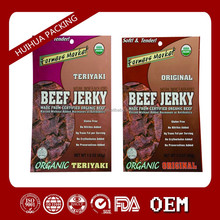 food grade packing bag beef packing snack packing aluminum foil plstic packing bag beef jerky packaging bags