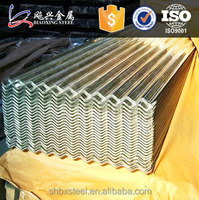 High Quality Galvanized Sheet Metal Roofing Sizes
