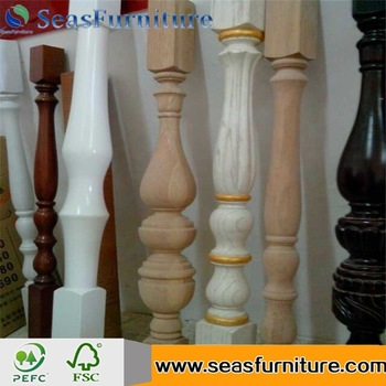 Economic and Efficient Hot Sale Rubber Wood FJL Stair Component Solid Wood Stair Tread with high quality