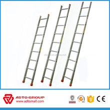 ADTO en131 aluminum straight ladder,construction ladder,single pole ladder